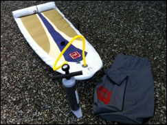 2012 Red Paddle 9`4 Inflatable SUP