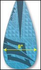 Naish Kaholo Carbon Blade Sizes